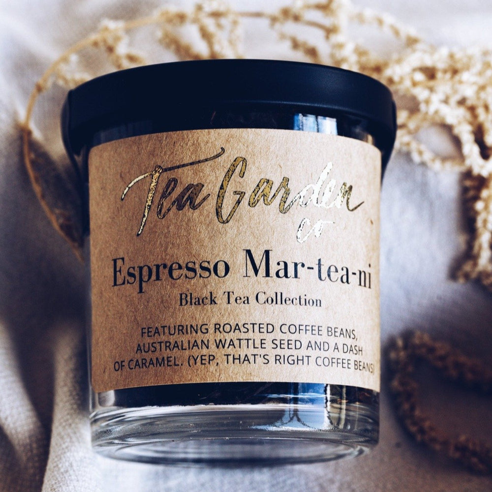 Espresso Mar-tea-ni - Black Tea Gourmet Tea Garden Co
