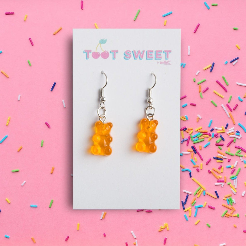 Gummy Bear Drop Earrings Jewellery Sweet Magazine
