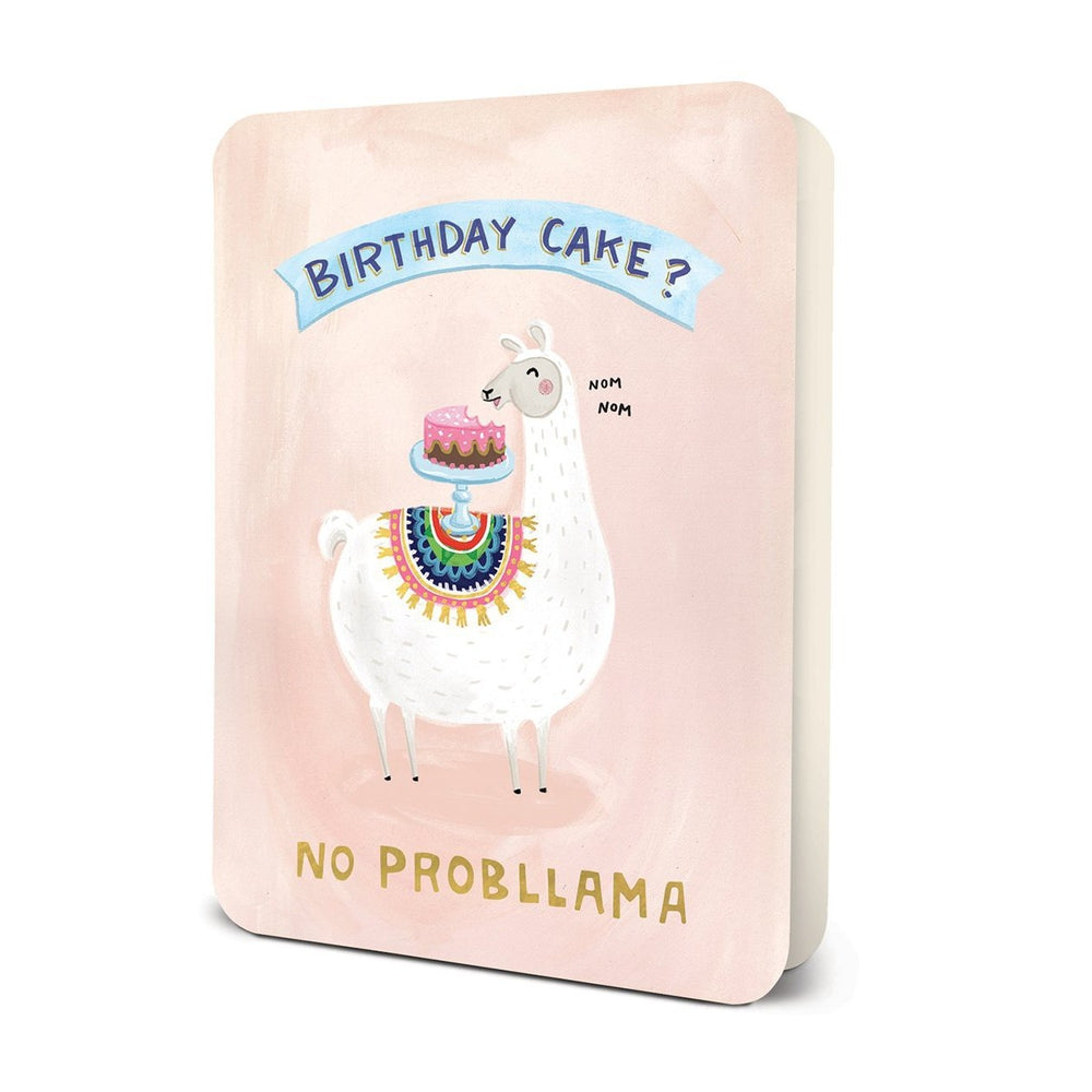 No Prob-llama Birthday Card Greeting Card Studio Oh!