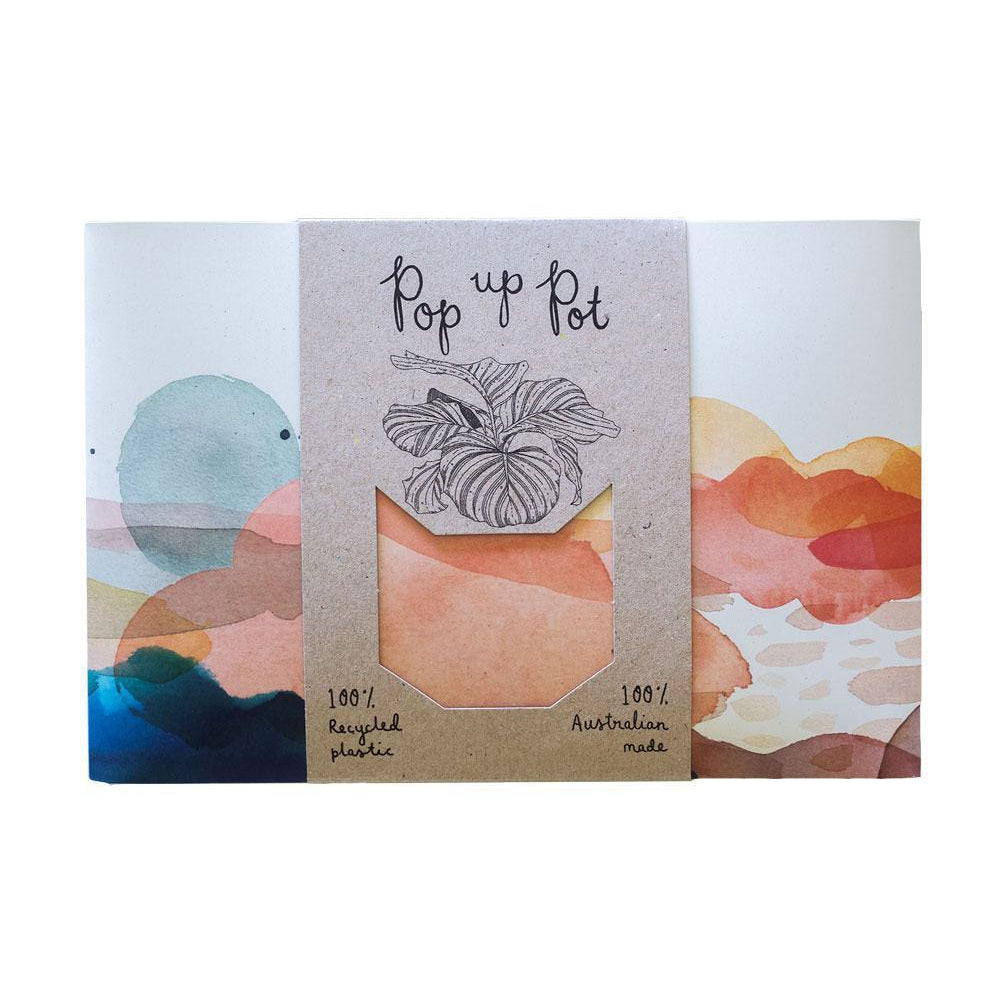 Pop Up Pot Greeting Card Sow 'n Sow Beach