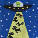 Alien Christmas Socks