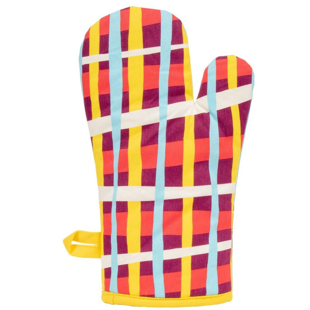 Say No To Salad Oven Mitt Kitchen Blue Q