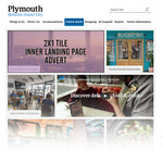 Visit Plymouth Inner Landing Page 2x1 Tile