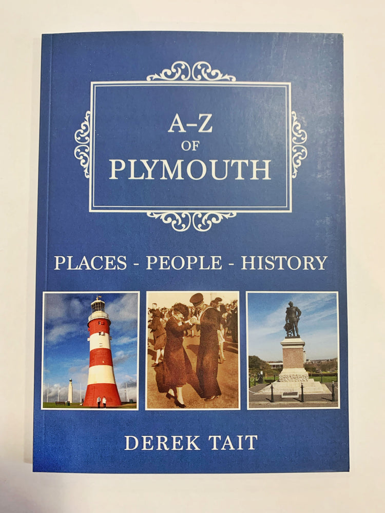 A-Z of Plymouth by Derek Tait