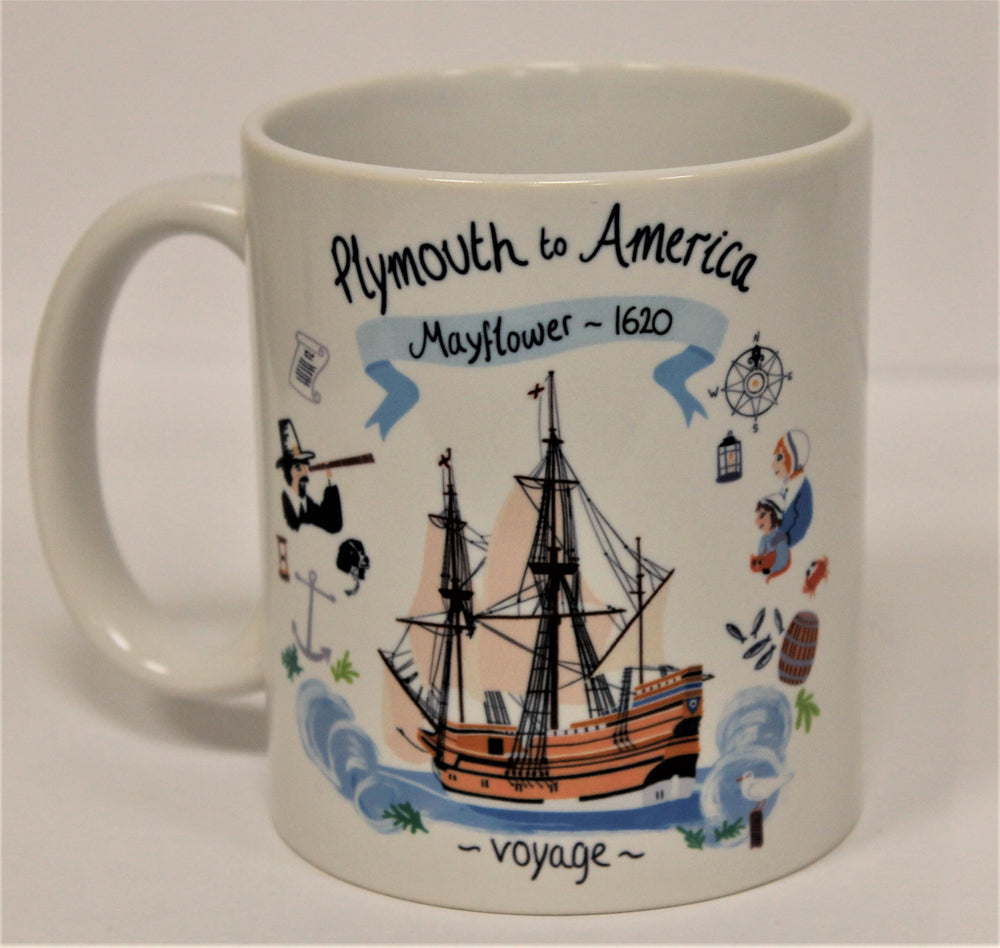 Mayflower 1620 Mug