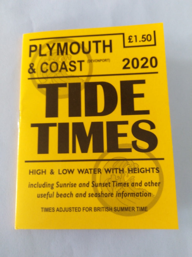 Plymouth & Coast (Devonport) Tide Times for 2020