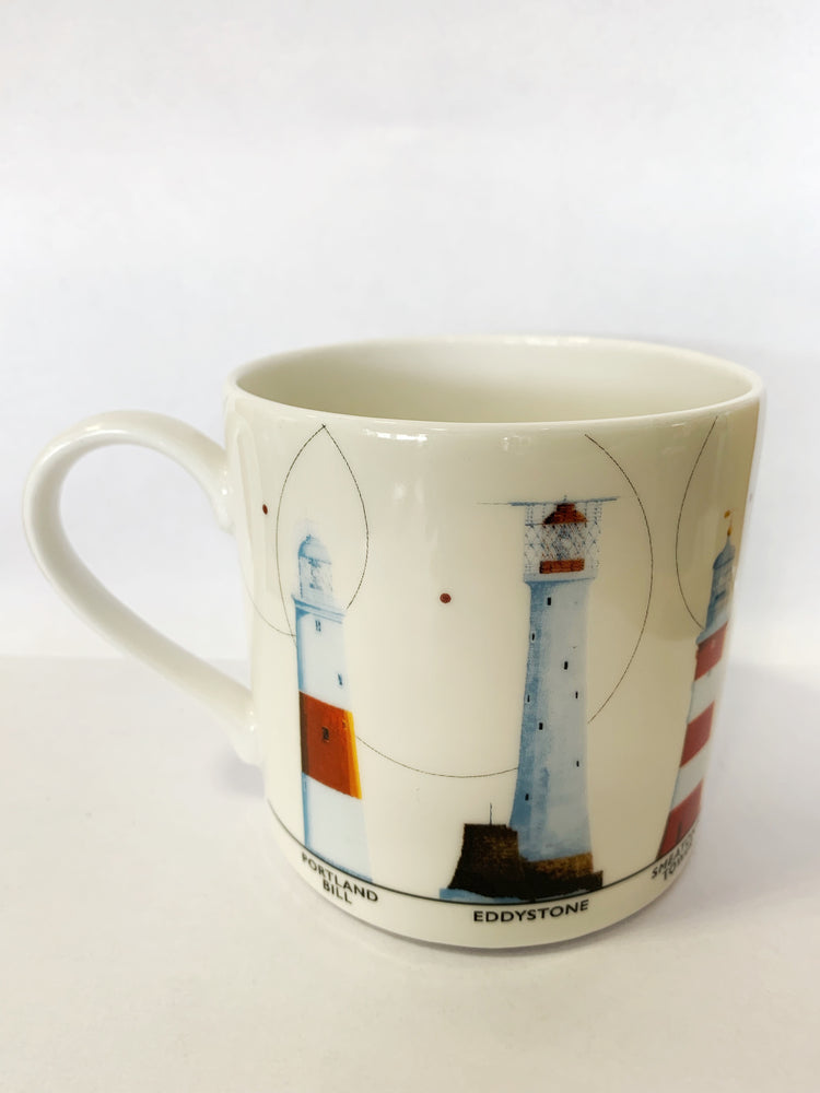 Lighthouses Ceramic Mug
