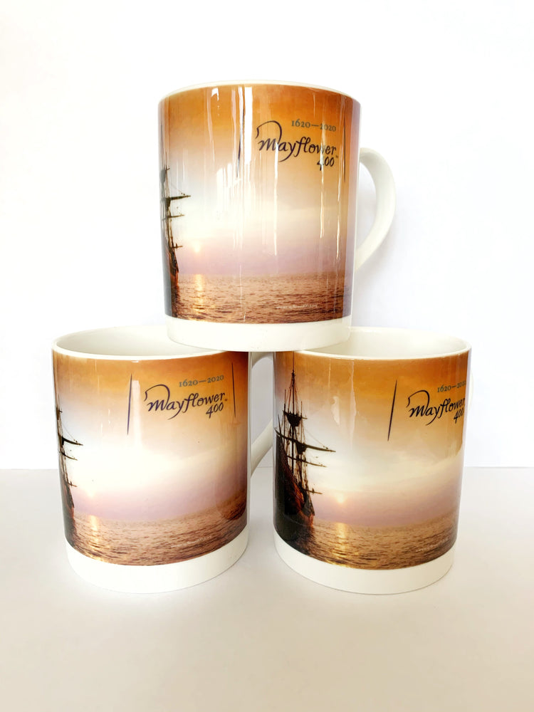 Mayflower 400 Official Merchandise Mug Design 2