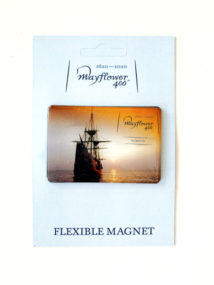 Mayflower 400 Official Merchandise Magnet Design 2