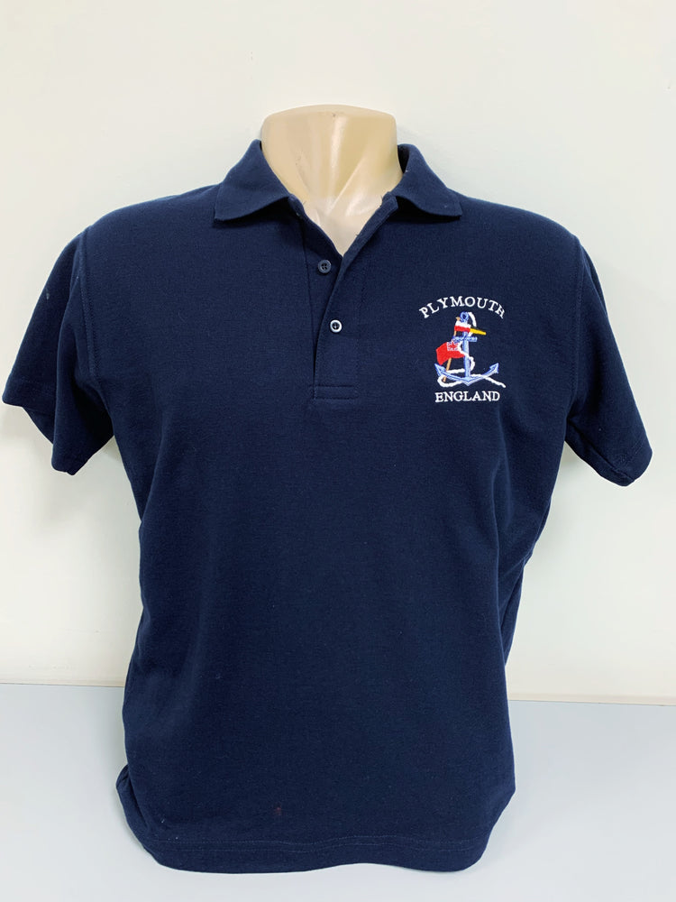 Polo Shirt, Navy Blue
