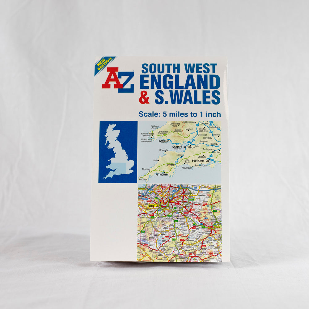 A-Z South West England and South Wales