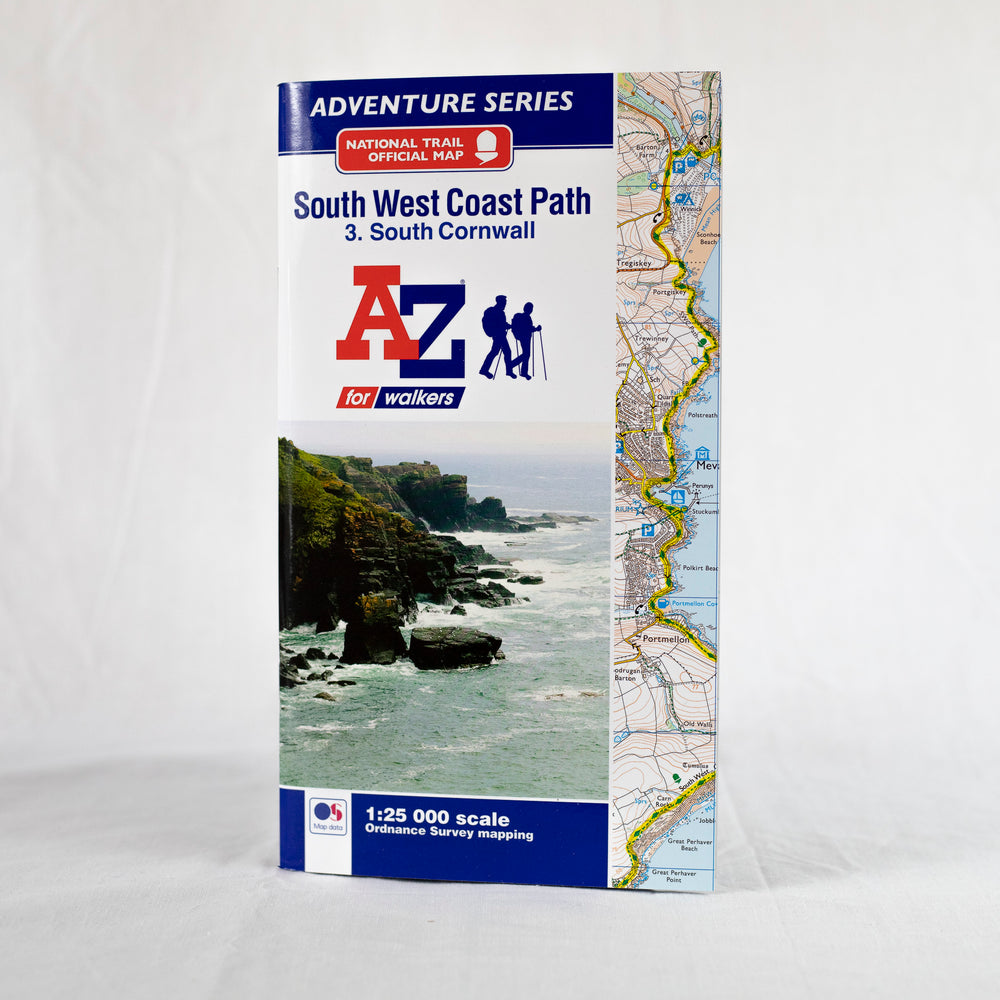 A-Z South West Coast Path - South Cornwall