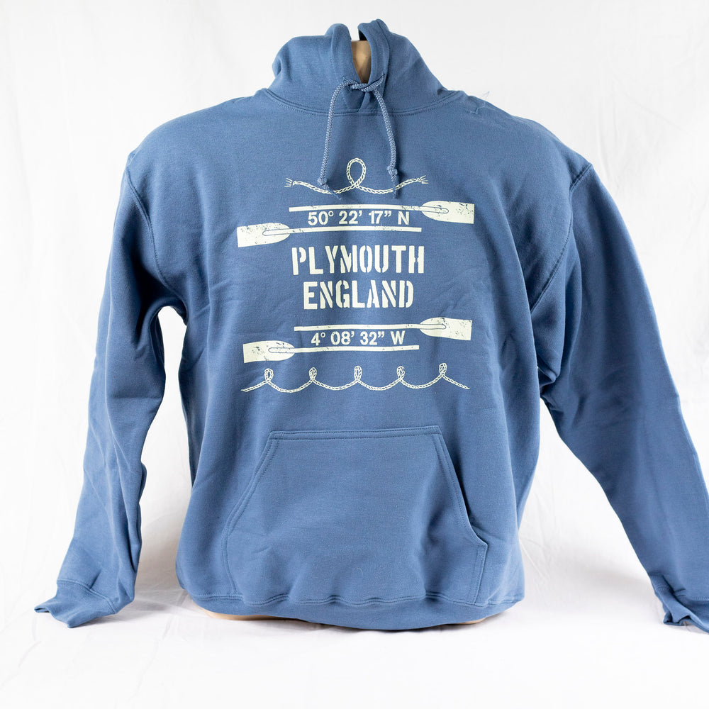 Hooded Sweatshirt - Indigo Blue