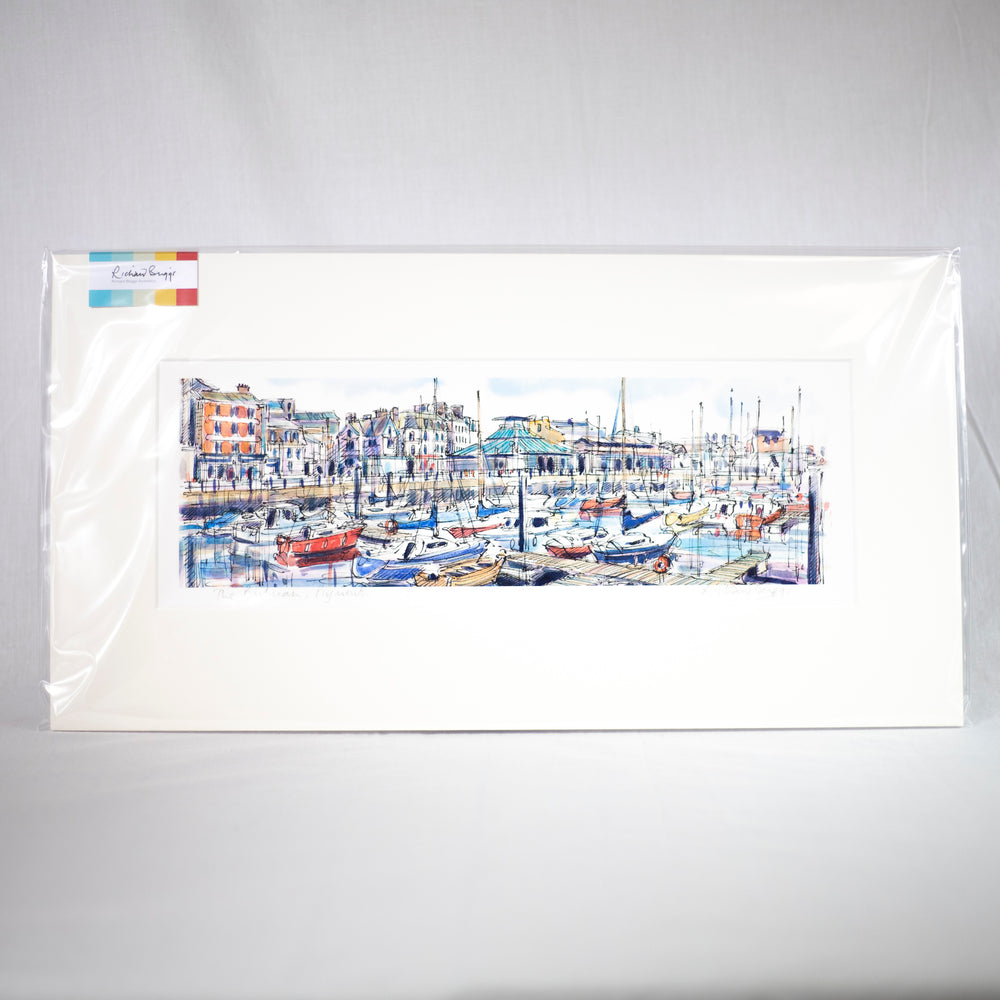 The Barbican, Plymouth Fine Art Print by Richard Briggs