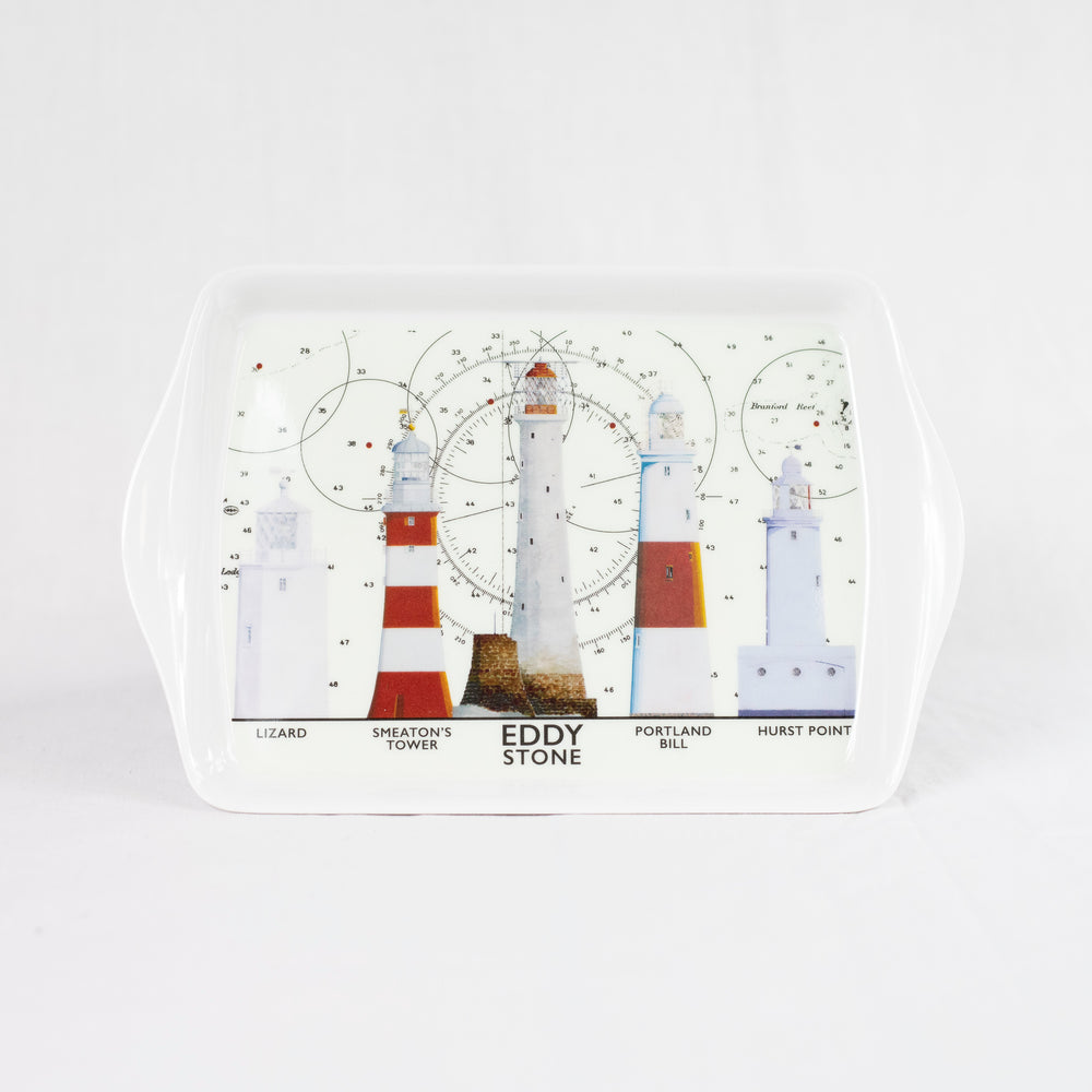 Lighthouses Melamine Tray - Small