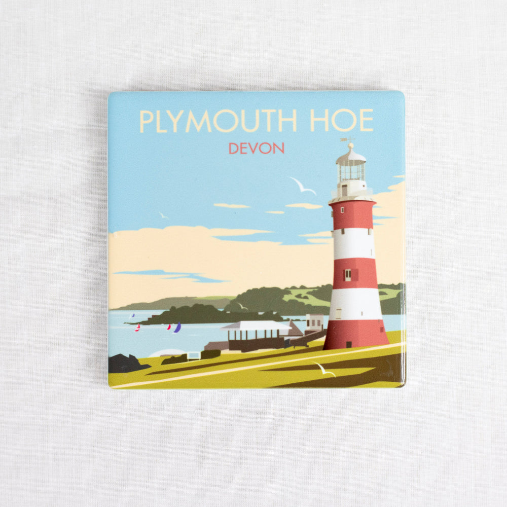 Plymouth Hoe Ceramic Coaster