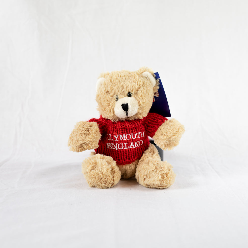 Plymouth Teddy Bear - Red
