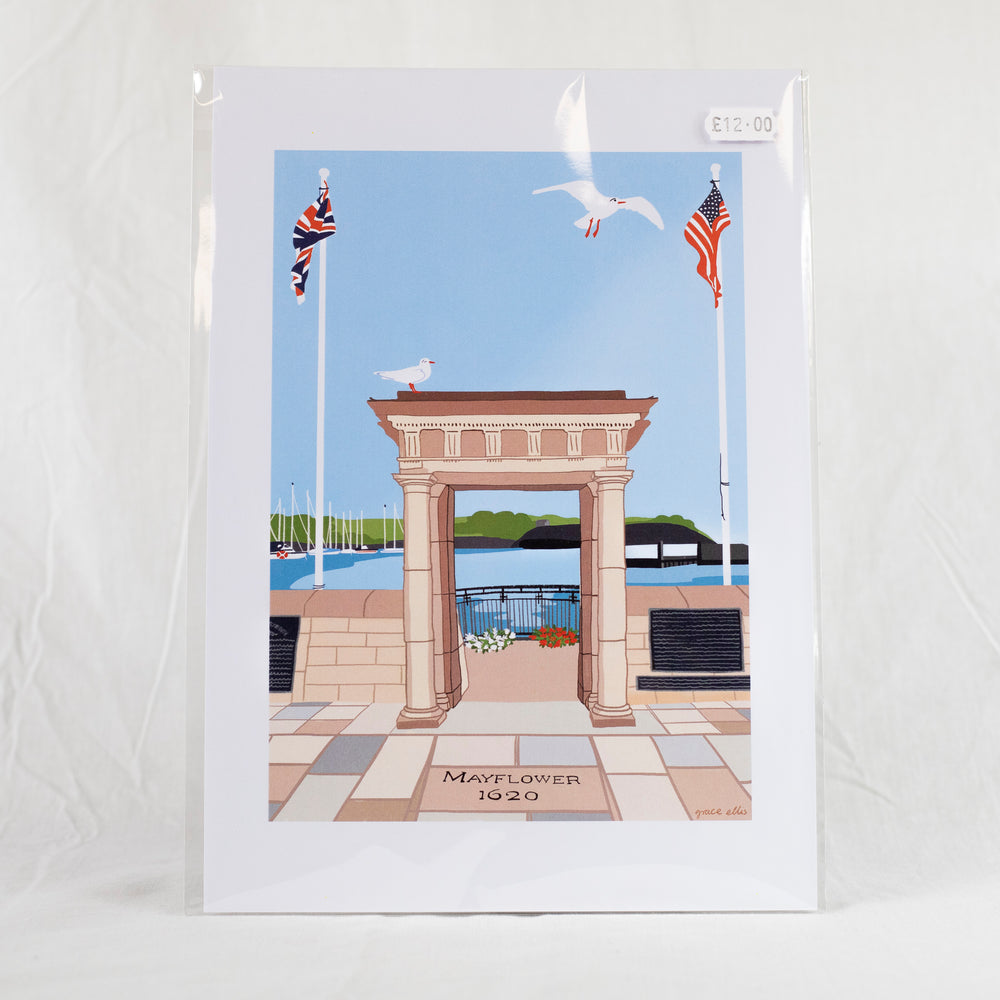 Mayflower Steps Print