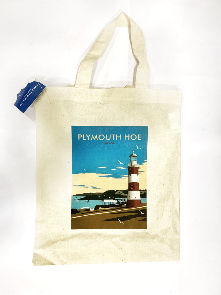 Plymouth Hoe Tote Bag