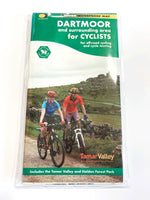 Dartmoor Cycling Waterproof Map (Harvey)