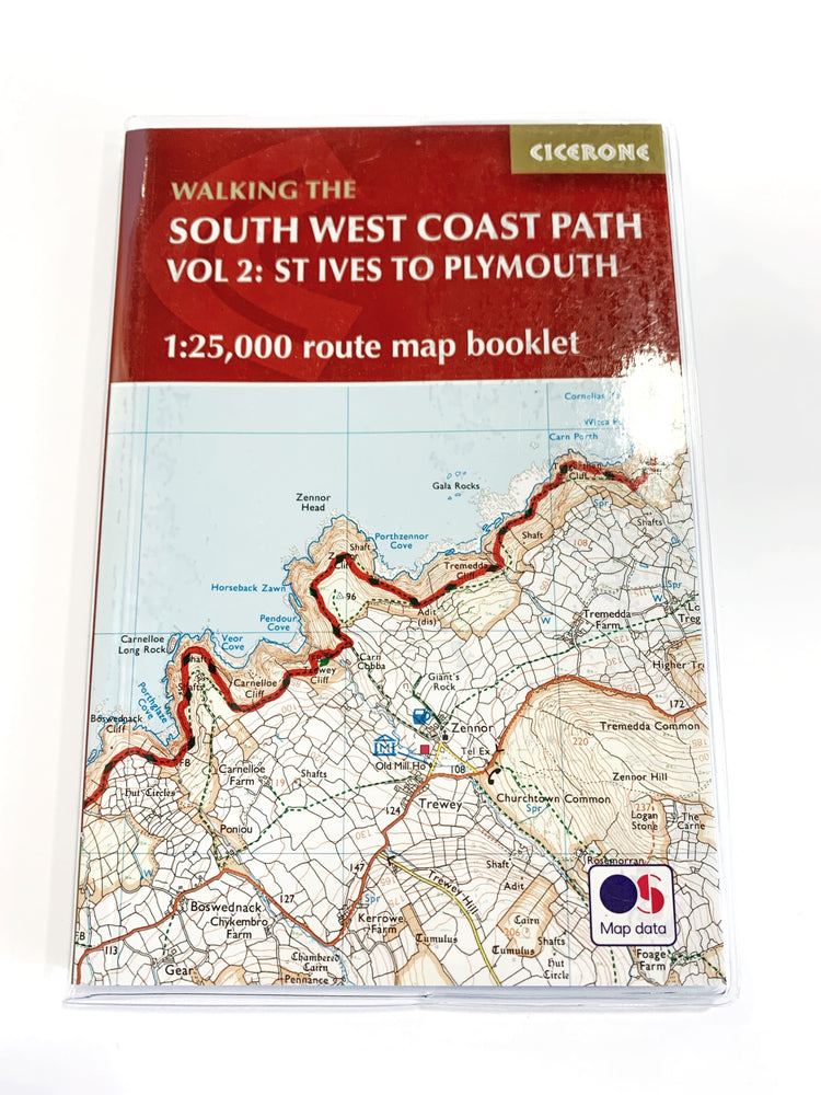 South West Coast Path Vol 2: St Ives to Plymouth (Cicerone)