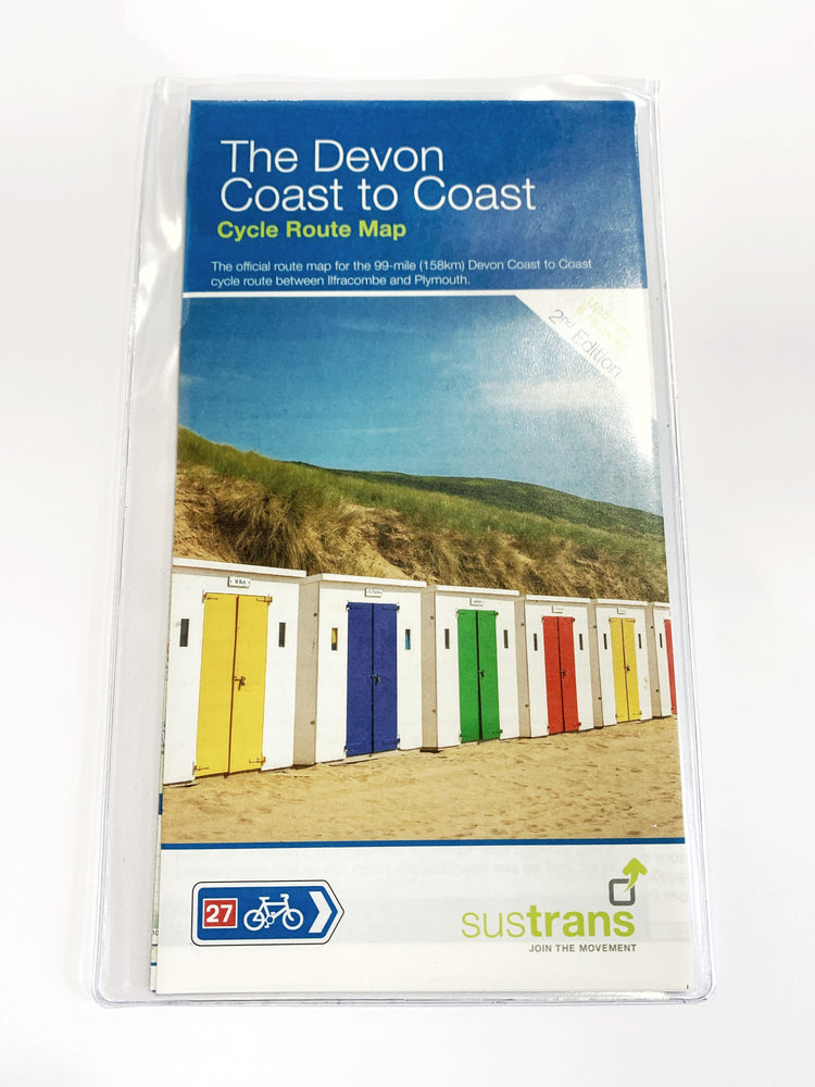 The Devon Coast to Coast Cycle Route Map (Sustrans)