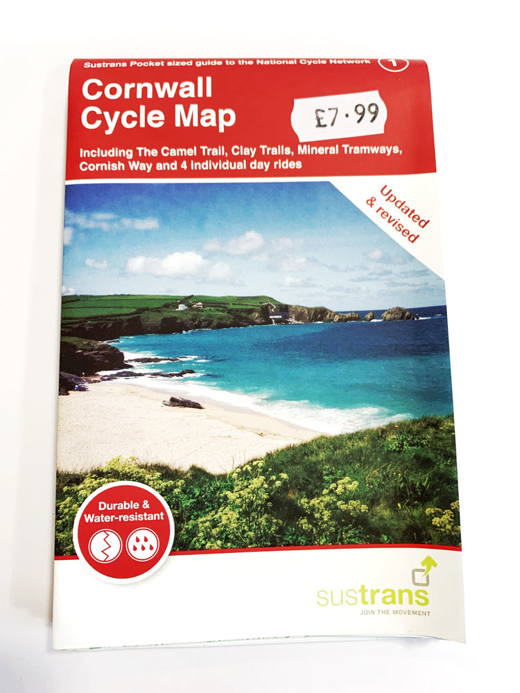 Cornwall Cycling Map (Sustrans)