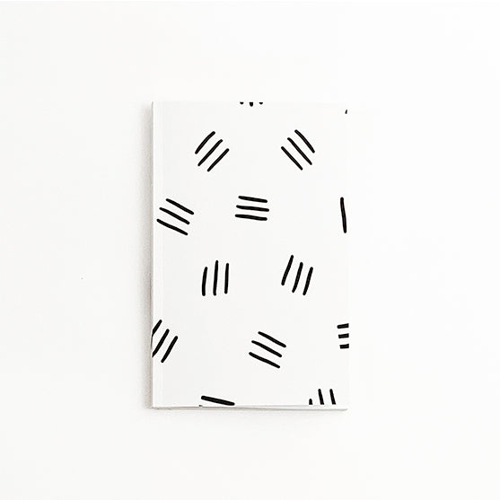 Black & White Pattern Journal