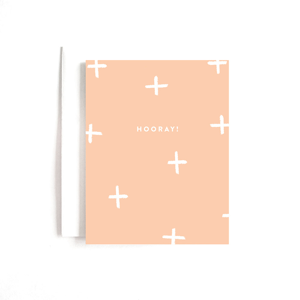 PINK HOORAY CARD