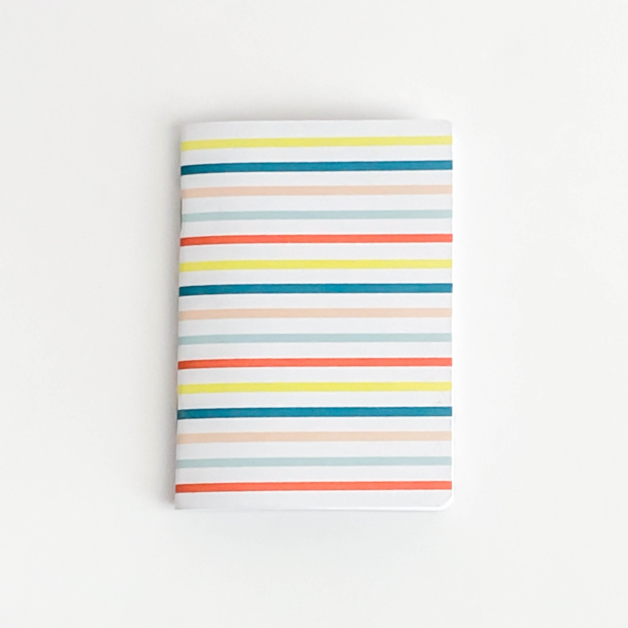 Colorful Stripes Pocket Journal