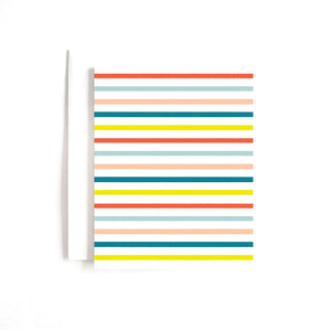 COLORFUL STRIPES CARD