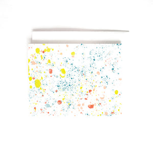 PAINT SPLATTER CARD