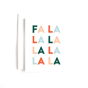 Fa La La Boxed Set of 8 Cards