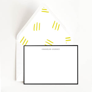 Minimal Border Stationery