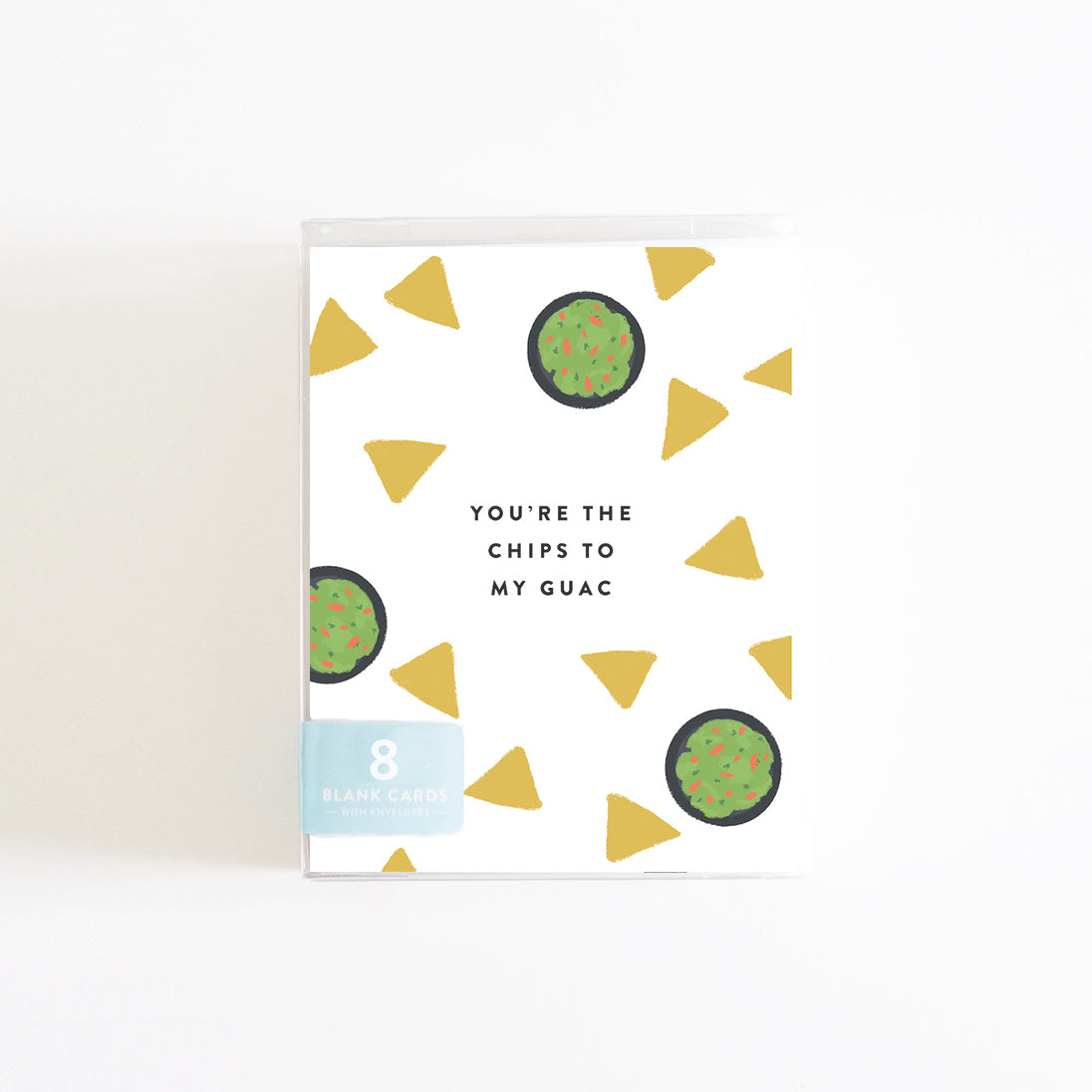 Chips to My Guac Boxed Set of 8 Cards