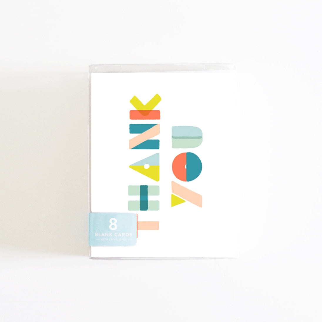 Thank You Shapes Boxed Set of 8 Cards
