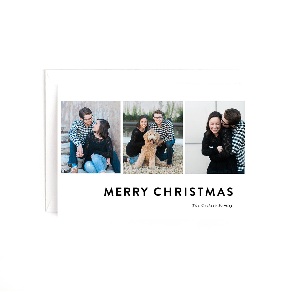 Gallery Personalized Holiday Photo Card