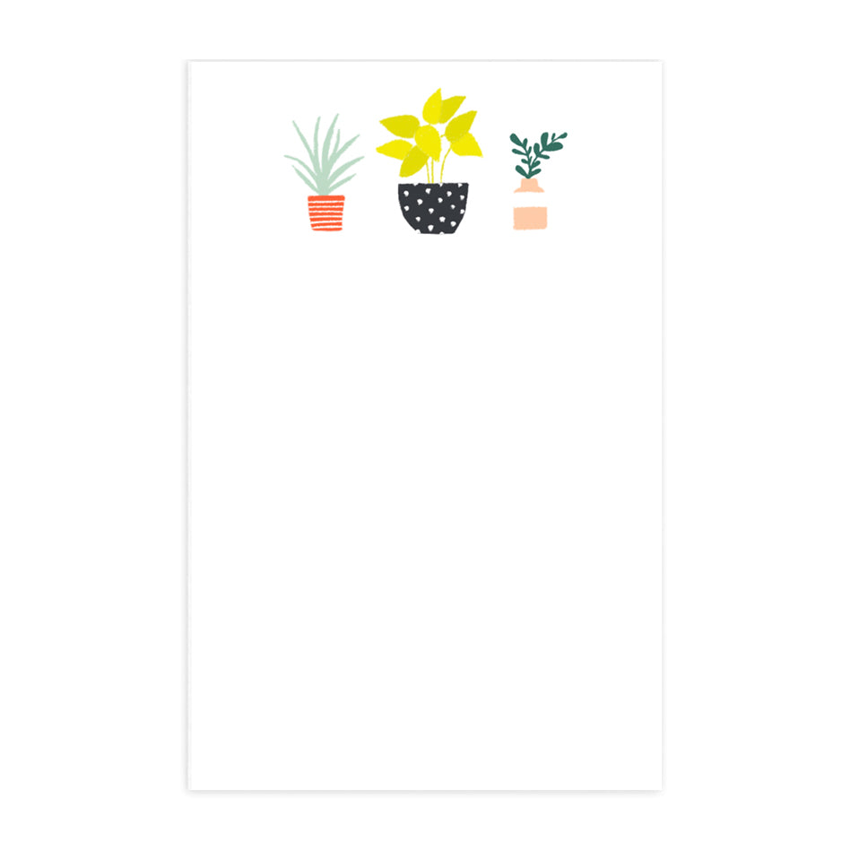Colorful Plants Notepad