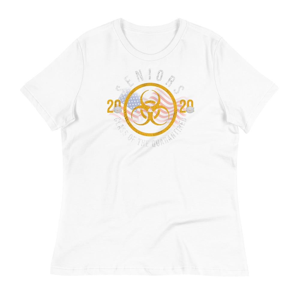 Seniors 2020 - Class of the Quarantined Women's Relaxed T-Shirt