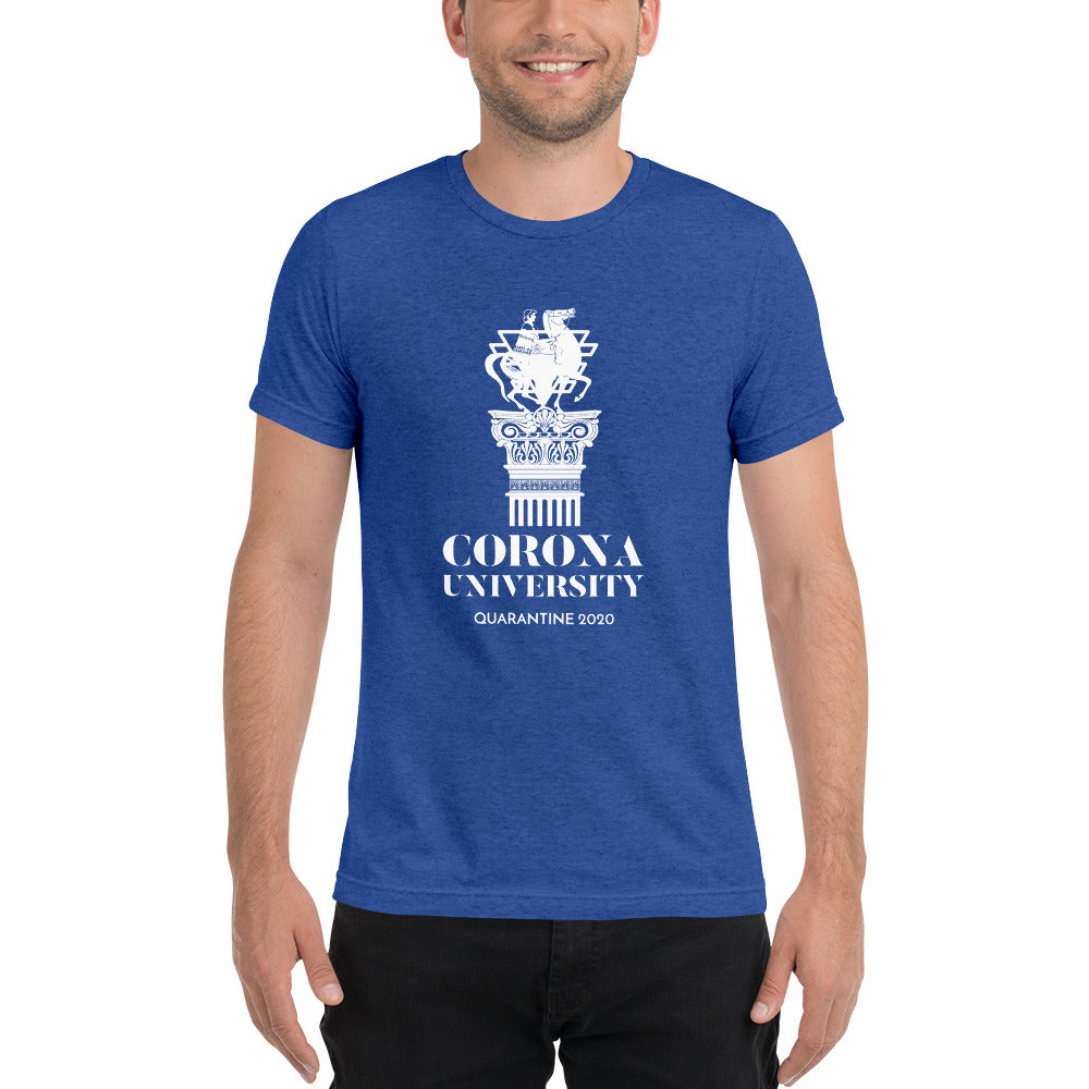 Men's Coronavirus University Short sleeve T-shirt