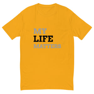 Men's My Life Matters Tee in Bright Colors
