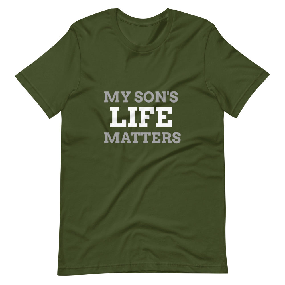 Men's My Son's Life Matters Tee