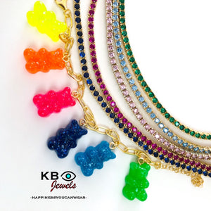 Gummy bears charms bracelet