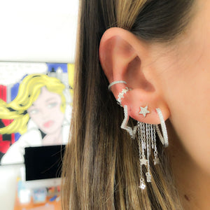 STAR SHAPE EARRINGS