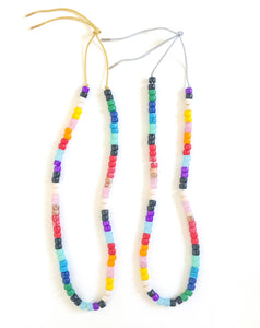 Happy Beads long necklace