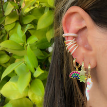 Load image into Gallery viewer, Fantasy horn earring
