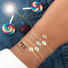 Load image into Gallery viewer, Lucky eye bracelet plain