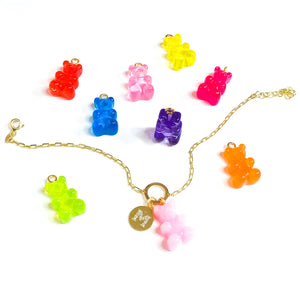Cutomized gummy bear bracelet
