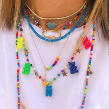 Load image into Gallery viewer, GUMMY BEAR NECKLACE RAINBOW