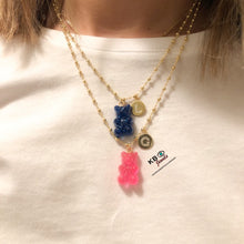 Load image into Gallery viewer, GUMMY BEAR LETTER NECKLACE